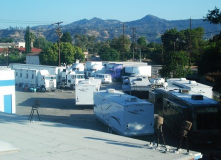 atb studios, grip trucks, sound stage, parking, film stage, burbank, los angeles